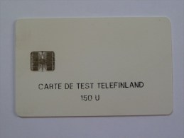 FINLAND - Schlumberger Test - 150 Units - RARE