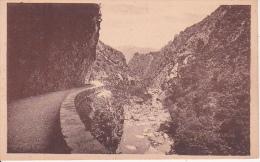 CPA Gorges Du Chabet-El-Ahkra - La Route Et Le Torrent (6677) - Algerien