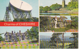 PC Charms Of Cheshire - Multiview Card (6682) - England