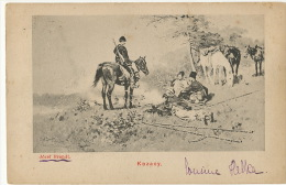 Kozacy Cosaque Kossack By Jozef Brandt Born In Poland Szczebrzeszyn Radom - Russia