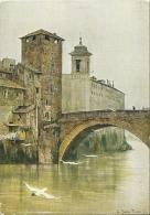 """ETTORE ROESLER FRANZ  Serie """"Roma Sparita""""  Isola Di San Bartolomeo - Other Illustrators"""