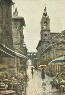 """ETTORE ROESLER FRANZ  Serie """"Roma Sparita""""  Via Del Campanile Di Borgo - Illustratori & Fotografie"""