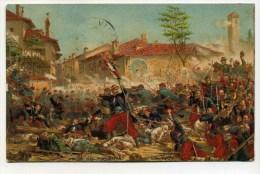 CPA  Italie  :  Prise De MAGENTA   Militaire  1906  A    VOIR   !!! - Sin Clasificación
