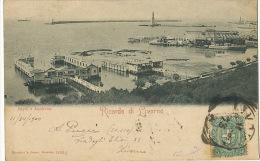 Ricordo Di Livorno Bagni E Lanterna Phare Lighthouse Edit Rommler Jonas Dresden 14361 G 1900 - Livorno