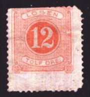1877-1891 Sweden, Mi 5B, Porto Stamp, MNH, CV 10 Euro, F - Neufs