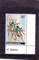 T] Timbre Stamp ** Rwanda Insecte Bug Insect Coléoptère Coleopter - Rwanda