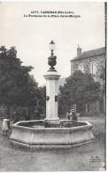 LANGEAC - La Fontaine De La Place Jules Maigne - Langeac