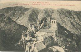 LF Toulouse Postcard, St-Martin-du-Canigou Ensemble De L'Abbaye Et Vue Des Nouvelles Constructions 1905, 37 - Autres Communes