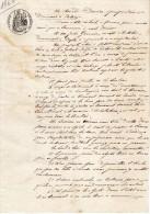 VP1211 - Acte Bail D'une Propriété à PUTOT Par Mr DUVIEU à Mr GERVAIS De DOZULE - Manuscripts