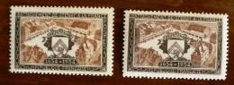 FRANCE Variété. Yvert 987. 2 Teintes Differentes. Neuf Sans Charniere. MNH  (les 2 Timbres Sont Livrés)