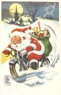 Santa Claus On A Motorbike - Used 1961 - Motorräder