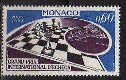 1967 Monaco - Interntional Chess Competition - 1v - MNH** Mi 864 - Schaken