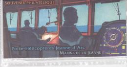 France Bloc Souvenir N° 55 Porte Hélicoptères Jeanne D´Arc , Bloc Sous Blister - Blocs Souvenir