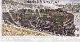 France Bloc Souvenir N° 68 Locomotive Pacific 231K8, Bloc Sous Blister - Blocs Souvenir