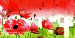 Jersey - 2014 - Remembrance 2014 -  Mint Souvenir Sheet - Jersey
