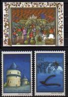 2002 Belgium / Belgien -700 Years Of  Goldsporen Battle  - Full Set Of MS And 2v - Paper -MNH** - Belgio