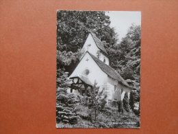 34934 PC:  SWITZERLAND:  LUCERNE: Burgenstock, Waldkapelle. - LU Luzern