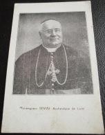 GUERRE 1914-1918 - PRIERE POUR L'ARMEE PAR MONSEIGNEUR SEVIN - Images Religieuses