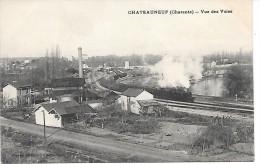 CHATEAUNEUF - Vue Des Voies - TRAIN - Chateauneuf Sur Charente