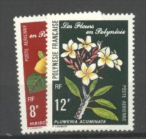 Polynésie  PA N° 126 & 127 Neuf Luxe XX  Cote  4,20  Euros Au Tiers De Cote - Poste Aérienne