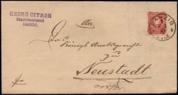 DR 1881 Nr. 41 Brief SONNENBURG > Frankfurt Oder - Allemagne