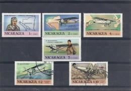 140014286  NICARAGUA  AEREO  Nº   901/2  + Nº 1069/70 + Nº 1072/73 - Nicaragua