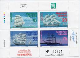 (8007) 1994 HK 94 Exposition De Timbres - Publié Par Les Îles Marshell - 1997-... Sonderverwaltungszone Der China