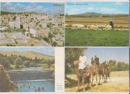 ISRAEL - LOT DE 10 CARTES - NON CIRCULÉES  - Toutes Scannées Recto Verso - - Cartes Postales