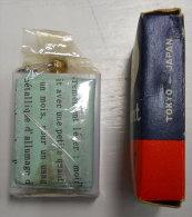 Esso Permanent Match Dans Blister Alumette Permanente  Advertising  RARE Collector  Vintage Registerd Patents All Parts - Publicité