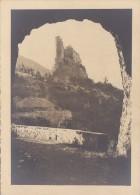 Photographie - Photo Lucarelli Nice Format 17,9 cm  x 12,9 cm / Cachet Photographe / Guillaumes 06 - Le Vieux Ch�teau