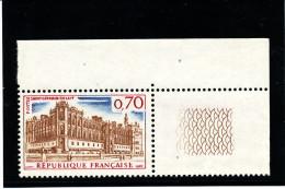 "France 1966 - Dalay N°1535  (  Variété S/légende  -StGermain En LAYF - ""F"" Au Lieu De ""E""-bdf )  Superbe - Curiosa: 1960-69 Postfris"