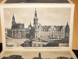 Dresden Hofkirche Und Schloss Von Der Gemaldegalerie Gesehen Germany Deutschland - Dresden