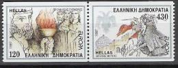 1997 Gréce  Griechenland  Yv. 1930-1  Mi. 1946-7 C  ** MNH Europa - 1997