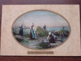 Ten Kale  Heuernte In Holland  / Anno 1908 Stamp Hamburg ( Zie Foto Voor Details ) !! - Holanda