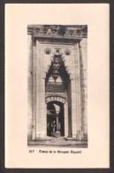 TY27) Istanbul - Entrance Of Bayezid II Mosque - Real Photo Postcard - Turkey