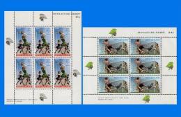 NZ 1970-0001, Health Stamps, 2 Miniature Sheets MNH - Blocks & Sheetlets