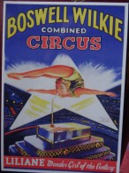 Cpm Cirque Artistes Boswell Wilkie - 5 - 99 Postkaarten