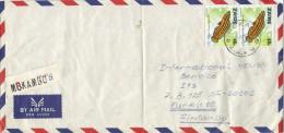 Zaire Congo 1978 Mokambo Julidochromus Fish Registered Cover - 1971-79: Afgestempeld