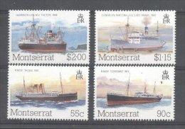 Montserrat 1984 Ships Lloyds List MNH S.674 - Montserrat