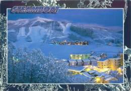 CPM - COLORADO - Evening Settles Over Ski Time Square And Mr. Werner - Etats-Unis