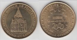 ** FONTEVRAUD ABBAYE ROYALE 2 2000 - LES CUISINES ROMANES - MAINE ET LOIRE - MONNAIE DE PARIS ** EN ACHAT IMMEDIAT !!! - Monnaie De Paris