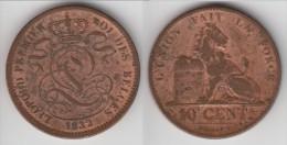 QUALITE **** BELGIQUE - BELGIUM - BELGIE - 10 CENTIMES 1832 LEOPOLD I ROI DES BELGES **** EN ACHAT IMMEDIAT - 04. 10 Centimes