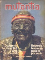 REVISTA MUTANTIA AÑO 1 NUMERO 2 DIRECTOR MIGUEL GRINBERG JACQUES-YVES COUSTEAU THOMAS MERTON POEMAS DE GINSBERG Y FELING - Revues & Journaux