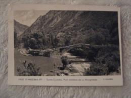 Andorra - Valls D Andorra - Santa Coloma - Pont Romanic De La Margineda - V Claverol - 1952 - Andorra