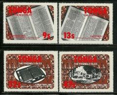 """Tonga       """"Christmas 1981""""     Set   SC# 493-96   MNH** - Christmas"""
