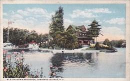 New York Thousand Island W B Haydens Residence