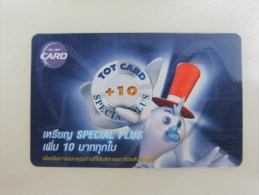 TOT Chip Phonecard,card Telephone Service,used - Thailand