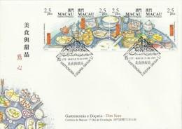 Macau 1999 Dim Sum FDC - FDC