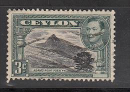 Celyon      Scott No. 279d    Used     Year  1946     Perf. 12 - Sri Lanka (Ceylon) (1948-...)