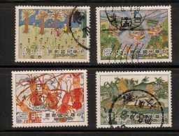 China     Scott No.  2233-36       Used      Year  1981 - Nuovi
